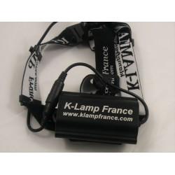 EXR1600 Frontale avec batterie au bandeau
