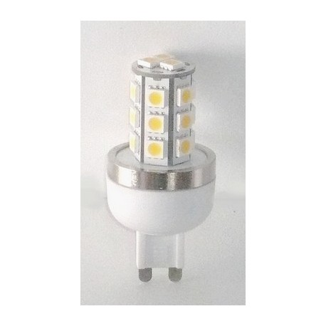 Led G9 2,8W 230V blanc chaud